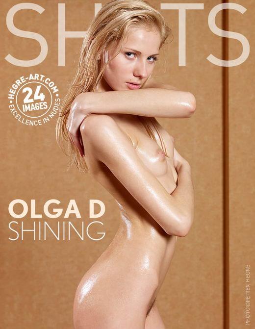 Olga D - `Shining` - by Petter Hegre for HEGRE-ART
