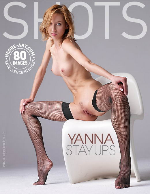 Yanna - `Stay-Ups` - by Petter Hegre for HEGRE-ART
