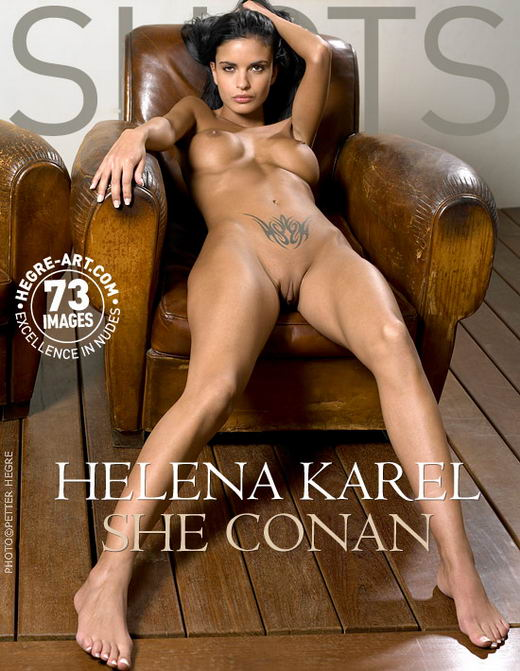 Helena Karel - `She Conan` - by Petter Hegre for HEGRE-ART