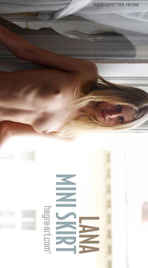 Lana - `Mini Skirt` - by Petter Hegre for HEGRE-ART