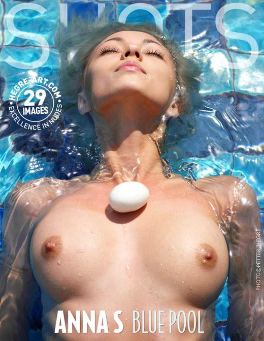 Anna S - `Blue Pool` - by Petter Hegre for HEGRE-ART