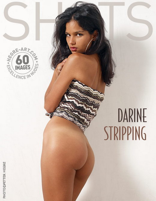 Darine - `Stripping` - by Petter Hegre for HEGRE-ART