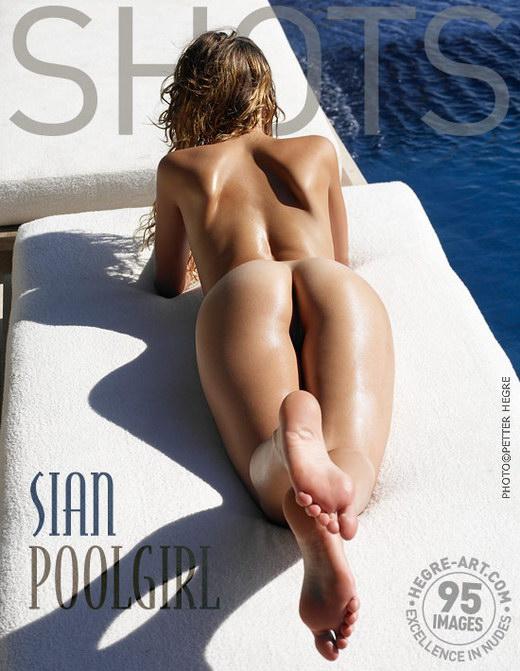 Sian - `Pool Girl` - by Petter Hegre for HEGRE-ART