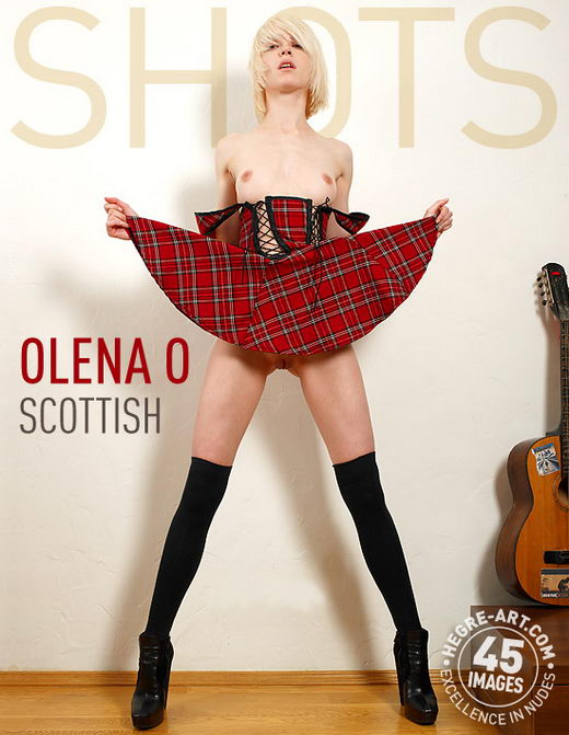 Olena O - `Scottish` - by Petter Hegre for HEGRE-ART