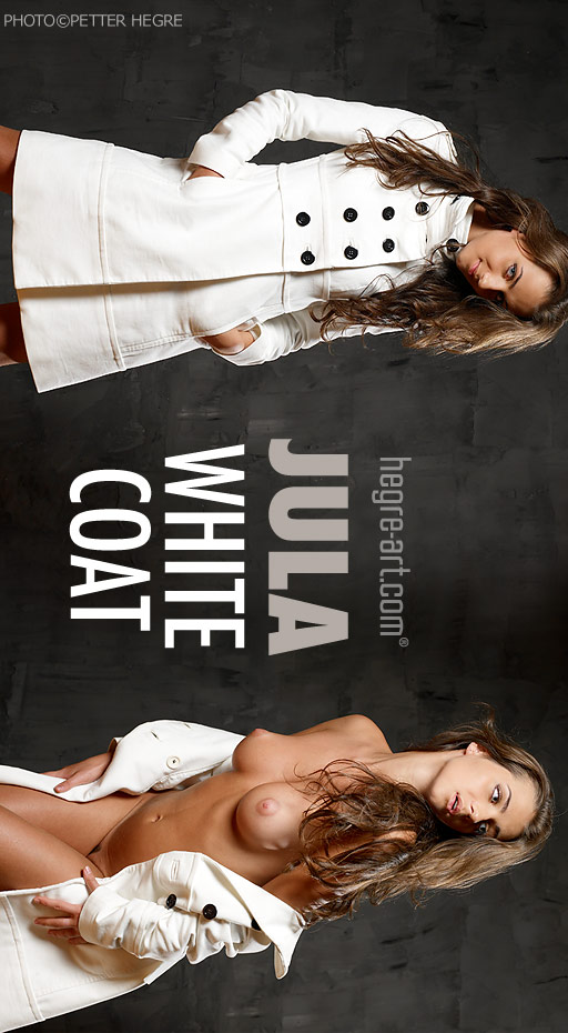 Jula - `White Coat` - by Petter Hegre for HEGRE-ART