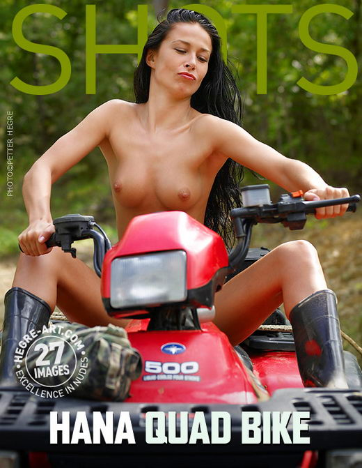 Hana - `Quad Bike` - by Petter Hegre for HEGRE-ART