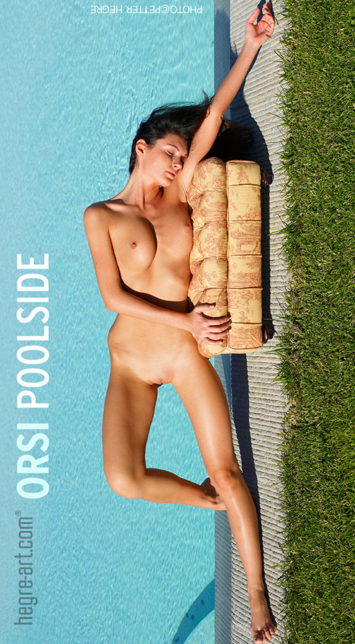 Orsi - `Poolside` - by Petter Hegre for HEGRE-ART