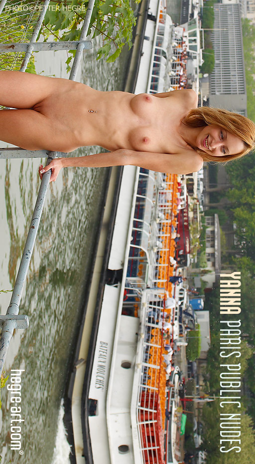 Yanna - `Paris Public Nudes` - by Petter Hegre for HEGRE-ART