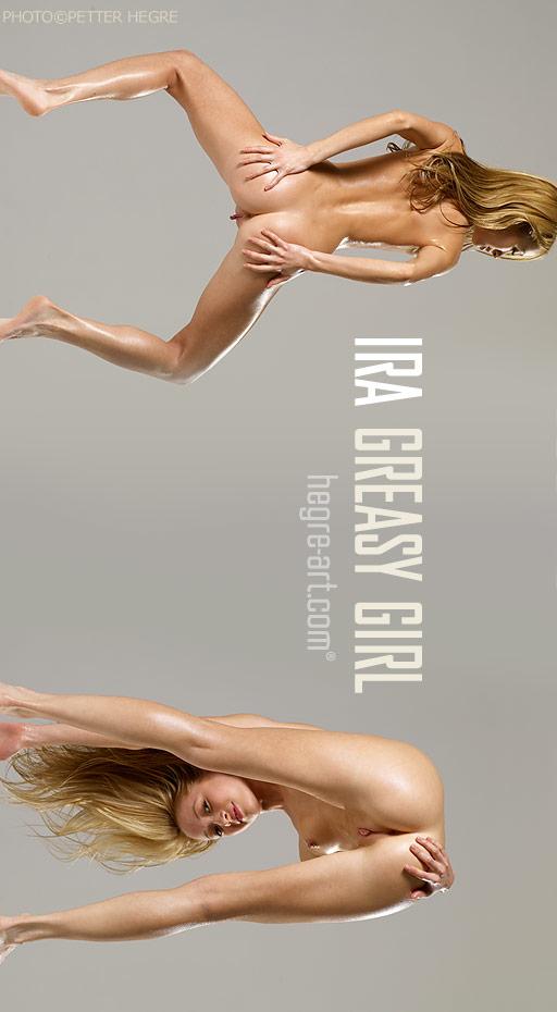Ira - `Greasy Girl` - by Petter Hegre for HEGRE-ART