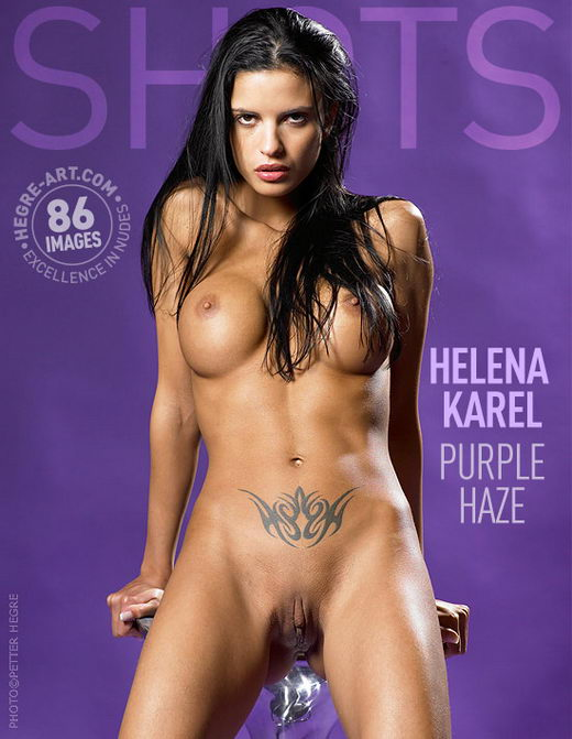 Helena Karel - `Purple Haze` - by Petter Hegre for HEGRE-ART
