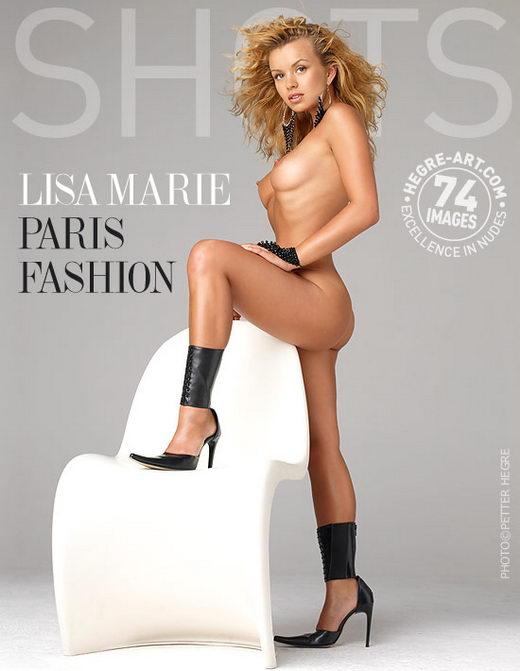 Lisa Marie - `Paris Fashion` - by Petter Hegre for HEGRE-ART