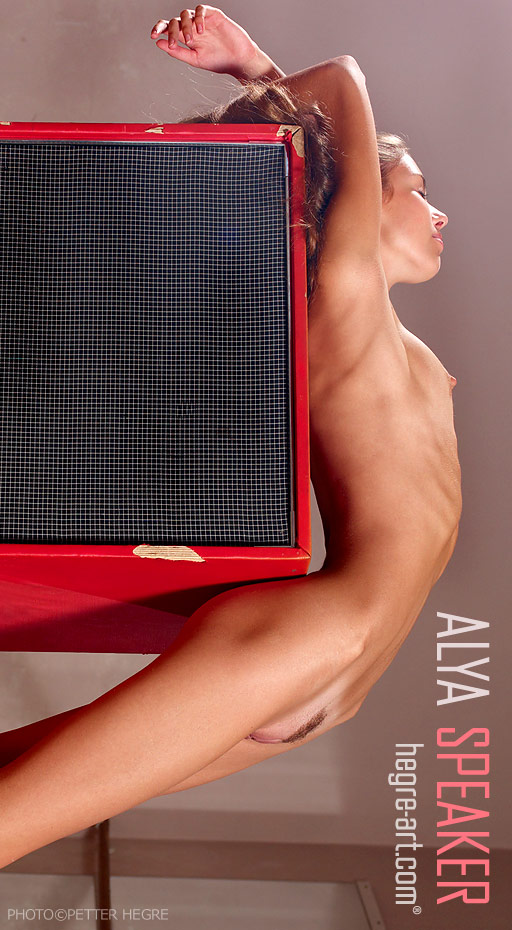 Alya - `Speaker` - by Petter Hegre for HEGRE-ART