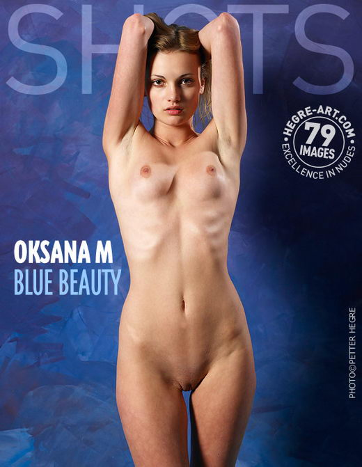 Oksana M - `Blue Beauty` - by Petter Hegre for HEGRE-ART