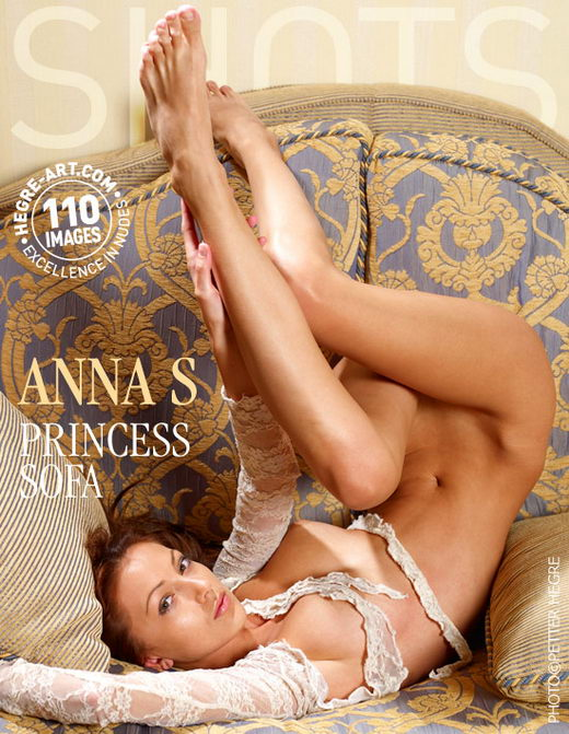 Anna S - `Princess Sofa` - by Petter Hegre for HEGRE-ART