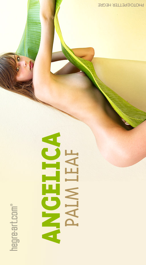 Angelica - `Palm Leaf` - by Petter Hegre for HEGRE-ART