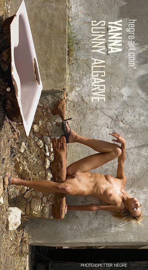 Yanna - `Sunny Algarve` - by Petter Hegre for HEGRE-ART