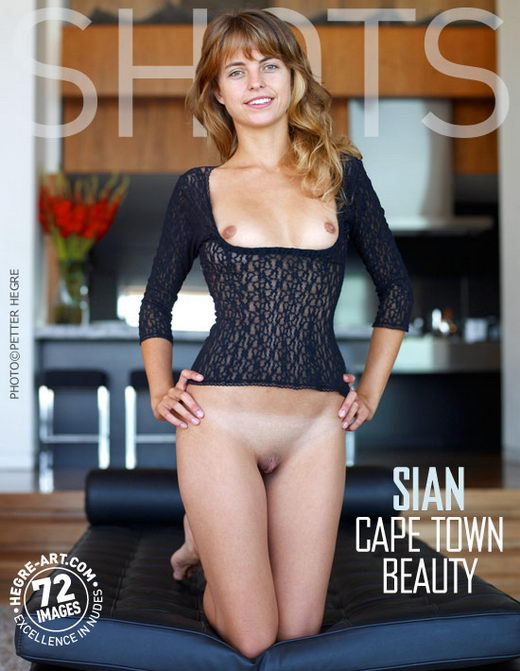 Sian - `Cape Town Beauty` - by Petter Hegre for HEGRE-ART