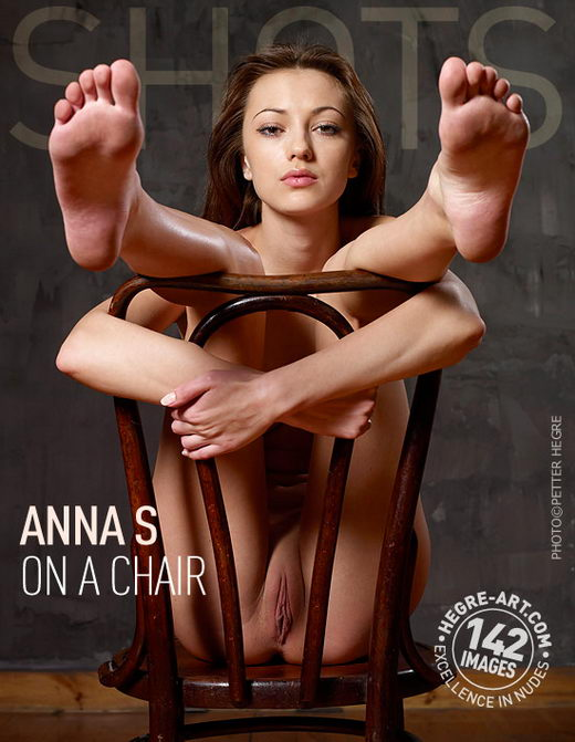 Anna S - `On A Chair` - by Petter Hegre for HEGRE-ART