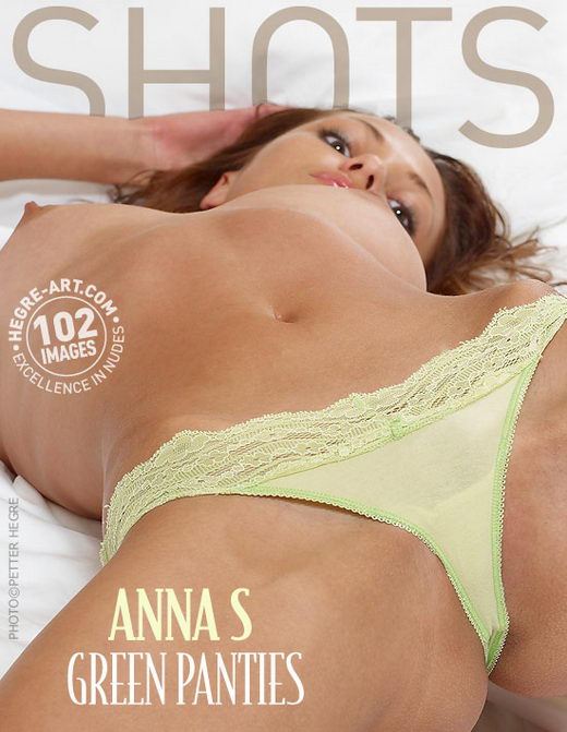 Anna S - `Green Panties` - by Petter Hegre for HEGRE-ART