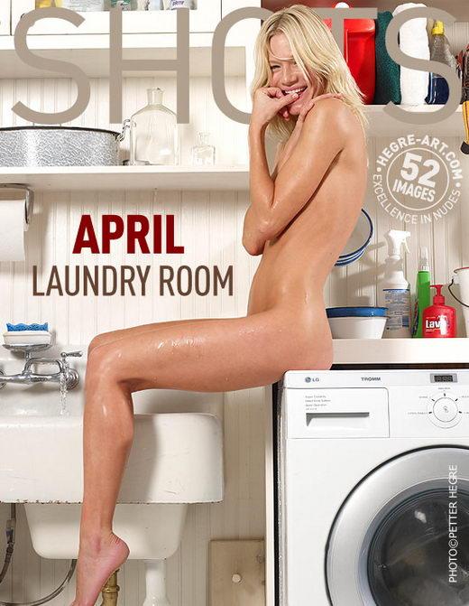 April - `Laundry Room` - by Petter Hegre for HEGRE-ART