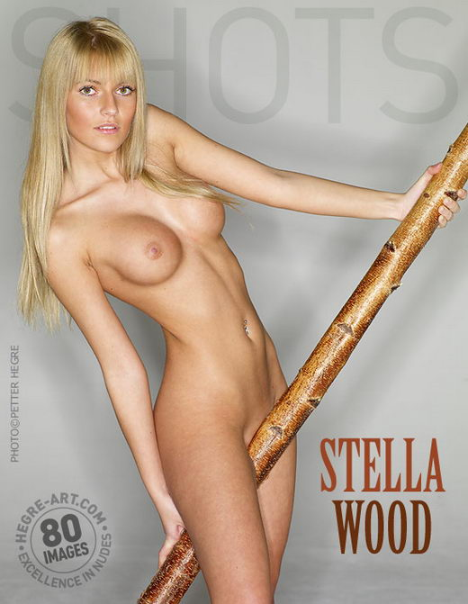 Stella - `Wood` - by Petter Hegre for HEGRE-ART