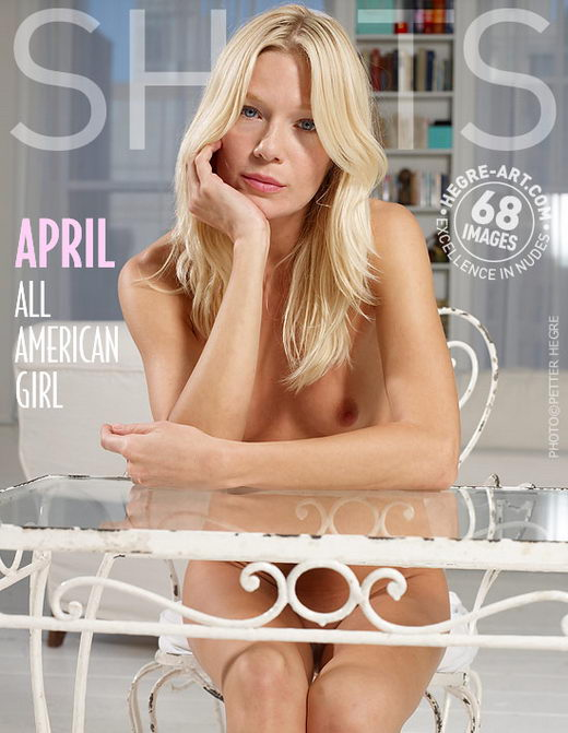 April - `All American Girl` - by Petter Hegre for HEGRE-ART