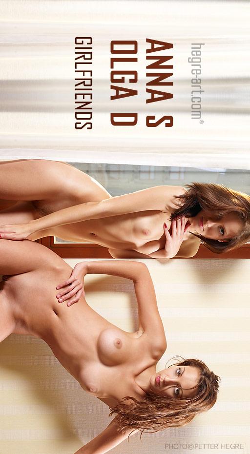 Anna S & Olga D - `Girlfriends` - by Petter Hegre for HEGRE-ART
