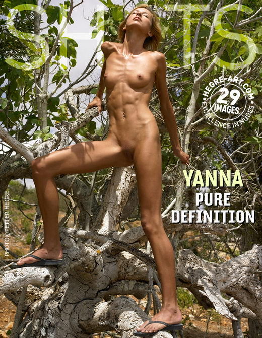 Yanna - `Pure Definition` - by Petter Hegre for HEGRE-ART