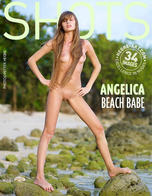 Angelica - `Beach Babe` - by Petter Hegre for HEGRE-ART