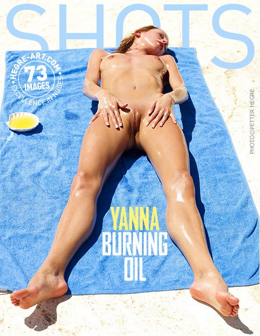 Yanna - `Burning Oil` - by Petter Hegre for HEGRE-ART