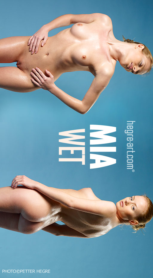 Mia - `Wet` - by Petter Hegre for HEGRE-ART