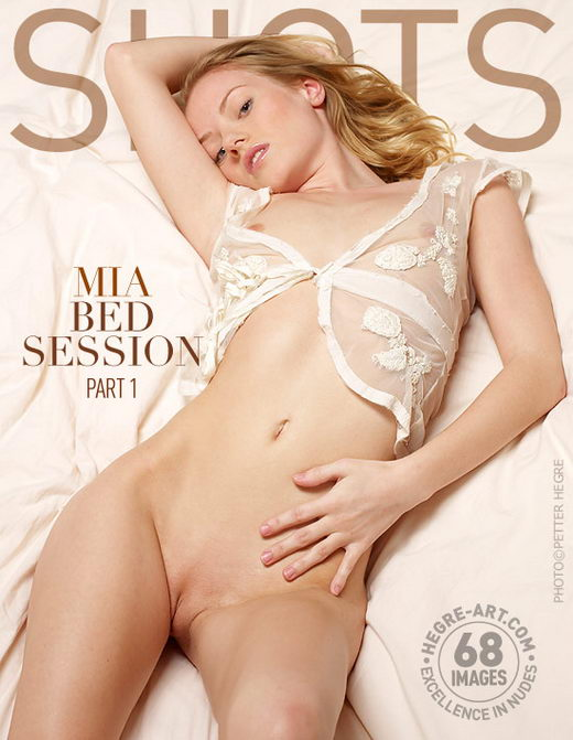 Mia - `Bed Session - Part 1` - by Petter Hegre for HEGRE-ART