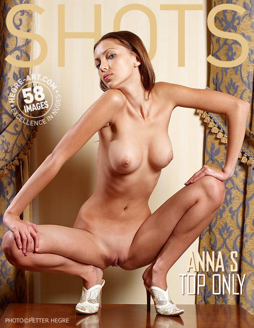 Anna S - `Top Only` - by Petter Hegre for HEGRE-ART