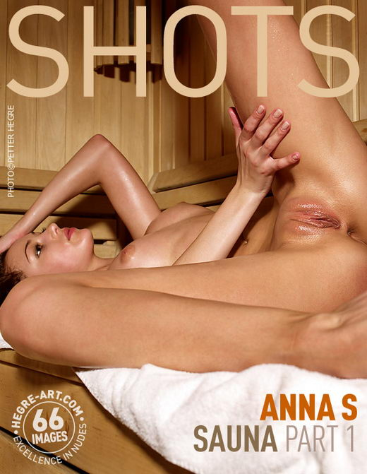 Anna S - `Sauna Part1` - by Petter Hegre for HEGRE-ART
