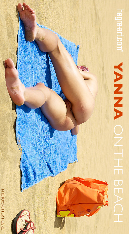Yanna - `On The Beach` - by Petter Hegre for HEGRE-ART