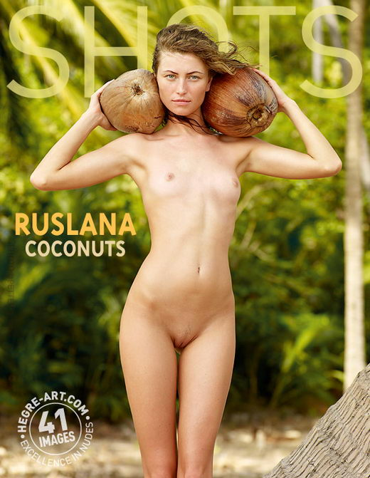 Ruslana - `Coconuts` - by Petter Hegre for HEGRE-ART