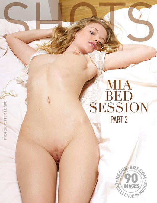 Mia - `Bed Session Part 2` - by Petter Hegre for HEGRE-ART