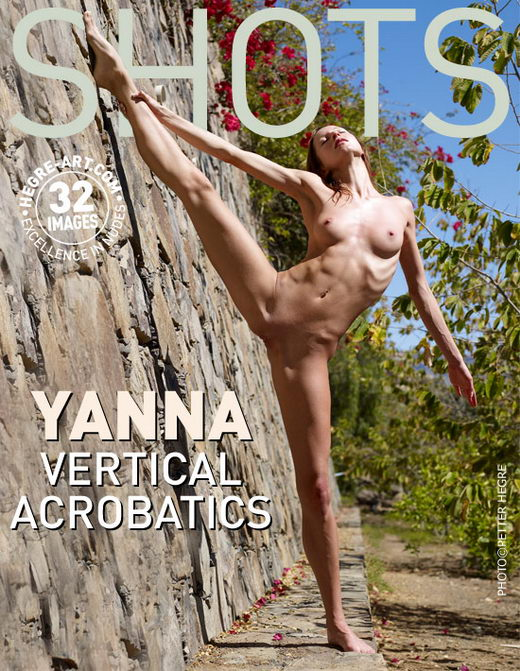 Yanna - `Vertical Acrobatics` - by Petter Hegre for HEGRE-ART