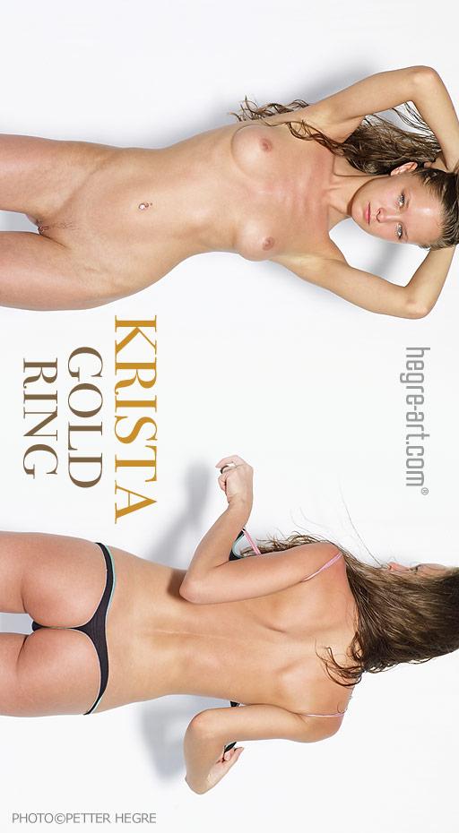 Krista - `Gold Ring` - by Petter Hegre for HEGRE-ART