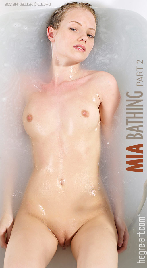 Mia - `Bathing Part 2` - by Petter Hegre for HEGRE-ART