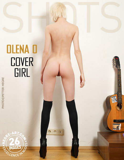 Olena O - `Cover Girl` - by Petter Hegre for HEGRE-ART