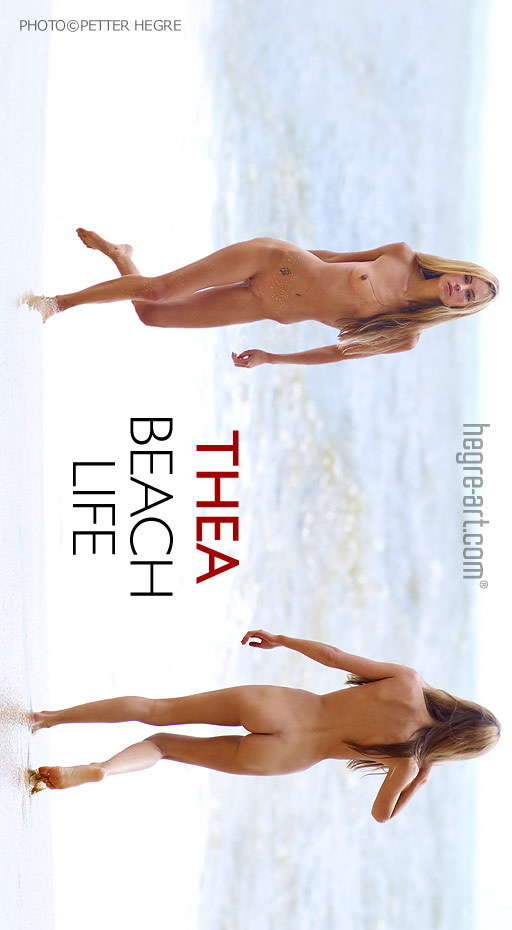 Thea - `Beach Life` - by Petter Hegre for HEGRE-ART