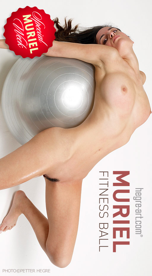 Muriel - `Fitness Ball` - by Petter Hegre for HEGRE-ART