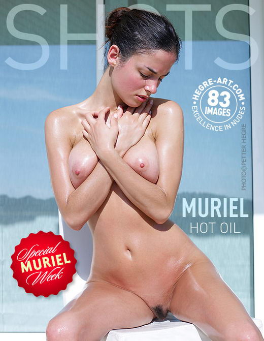 Muriel - `Hot Oil` - by Petter Hegre for HEGRE-ART