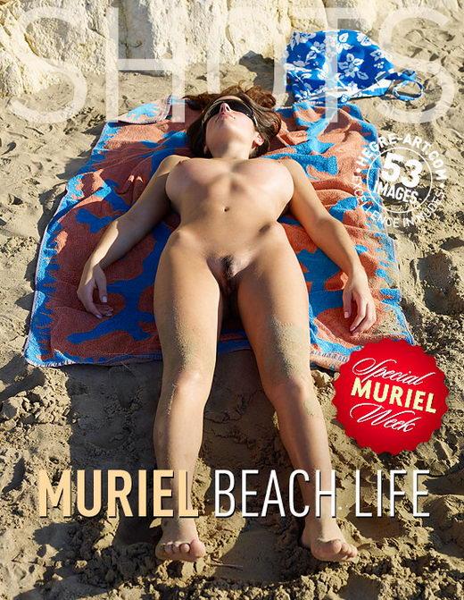 Muriel - `Beach Life` - by Petter Hegre for HEGRE-ART
