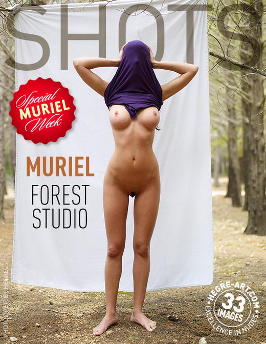 Muriel - `Forest Studio` - by Petter Hegre for HEGRE-ART