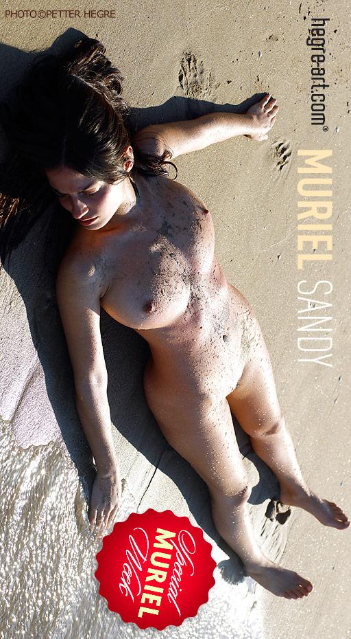 Muriel - `Sandy` - by Petter Hegre for HEGRE-ART