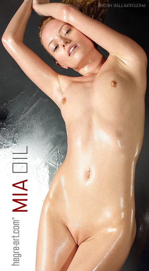Mia - `Oil` - by Petter Hegre for HEGRE-ART