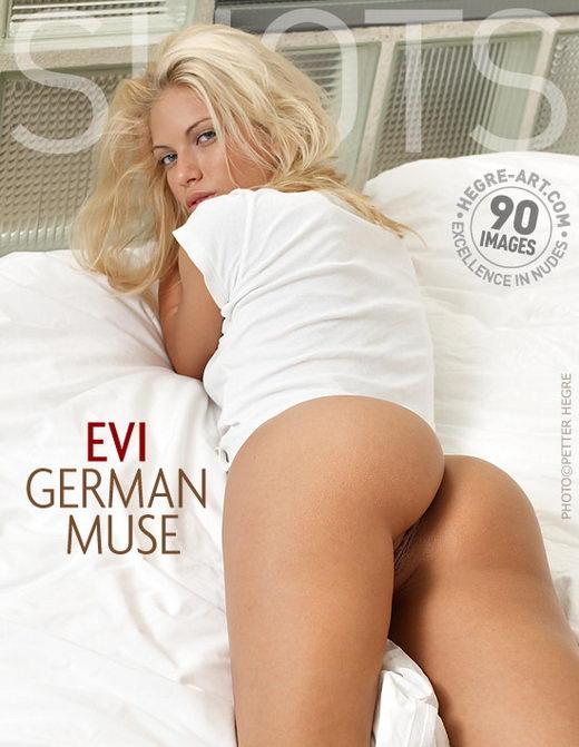 Evi - `German Muse` - by Petter Hegre for HEGRE-ART