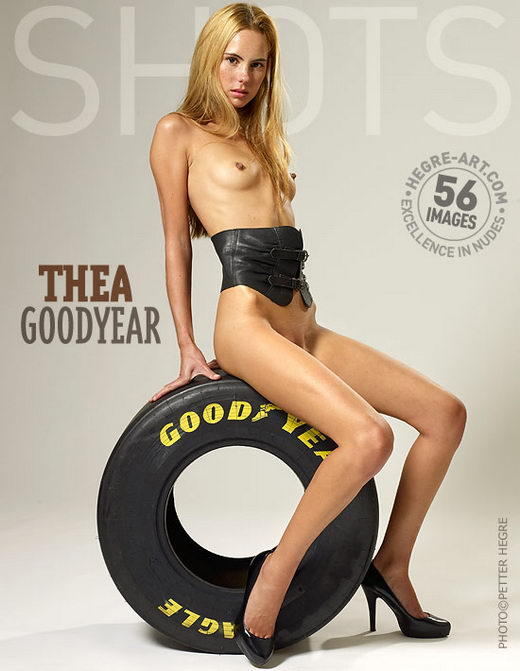 Thea - `Goodyear` - by Petter Hegre for HEGRE-ART